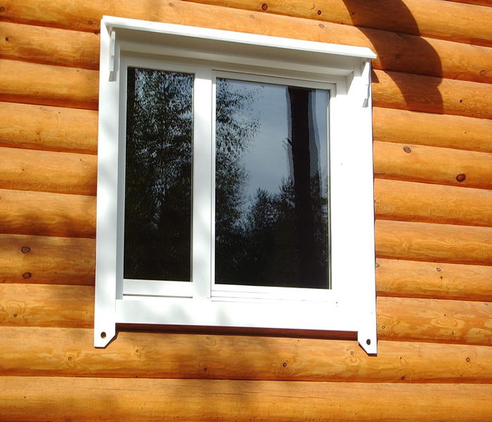 Как установить пластиковые окна в деревянный дом своими руками